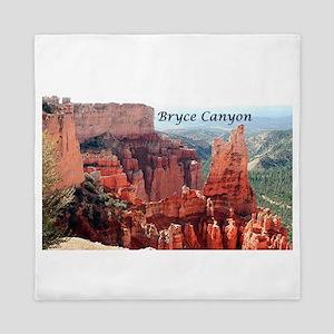 Bryce Canyon, Utah, USA 5 (caption) Queen Duvet