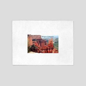 Bryce Canyon, Utah, USA 5 (caption) 5'x7'Area Rug
