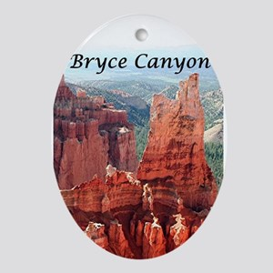 Bryce Canyon, Utah, USA 5 (caption Ornament (Oval)