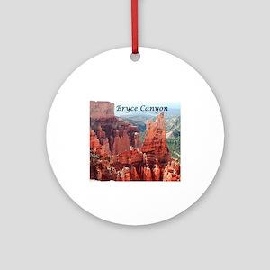 Bryce Canyon, Utah, USA 5 (captio Ornament (Round)