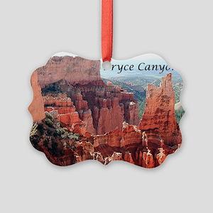 Bryce Canyon, Utah, USA 5 (captio Picture Ornament