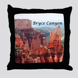 Bryce Canyon, Utah, USA 5 (caption) Throw Pillow