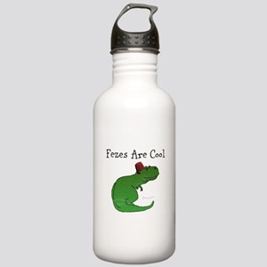 T-Rex - Fezes Are Cool Water Bottle