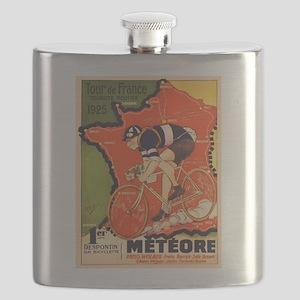 Tour de France Vintage Poster Flask