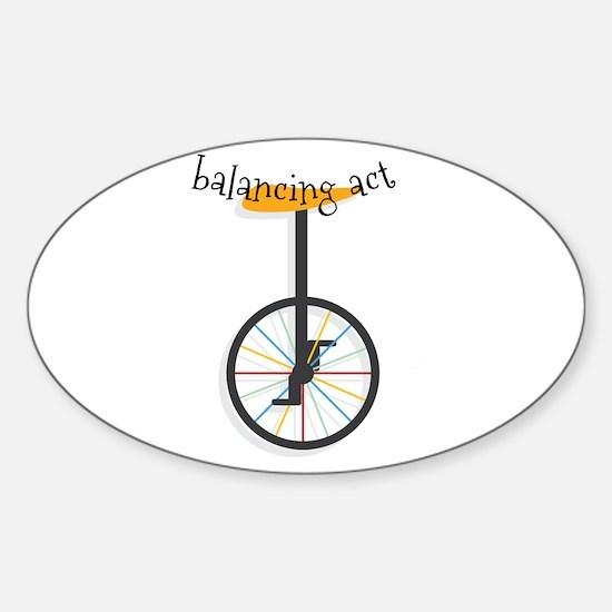 Balancing Act Decal