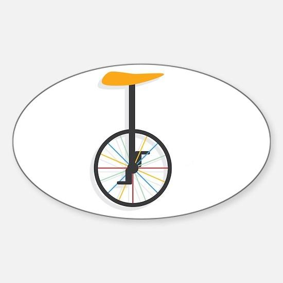 Unicycle Decal