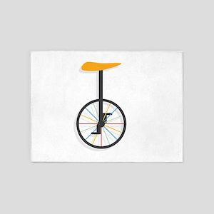 Unicycle 5'x7'Area Rug