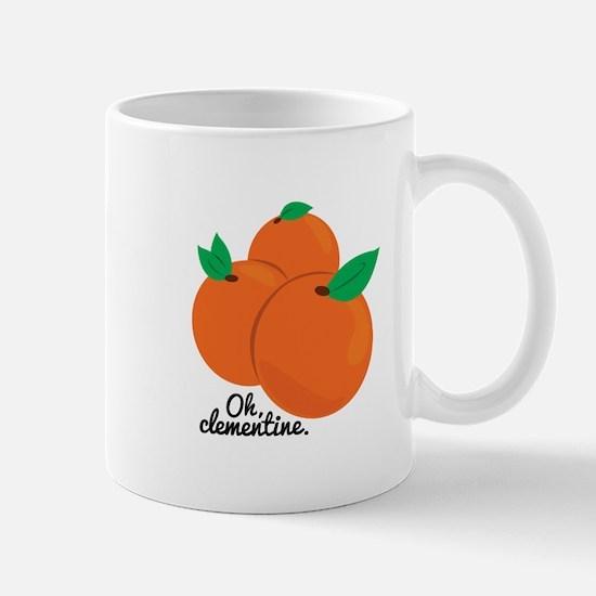Oh Clementine Mugs