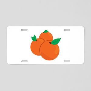 Citrus Fruit Aluminum License Plate