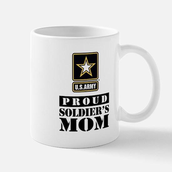 Proud Soldier's Mom Mug