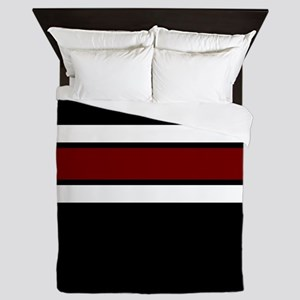 Maroon...Team Colors 2 Queen Duvet