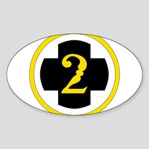 USA 2nd Medical Brigade Sticker