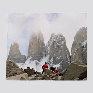 Torres del Paine National Park, Chil Throw Blanket