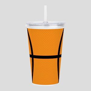 Basketball Acrylic Double-wall Tumbler