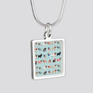 Winter Pugs Necklaces