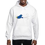 Twin A Flying Bird Hooded Sweatshirt