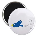 Twin A Flying Bird Magnet