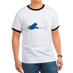 Twin A Flying Bird Ringer T