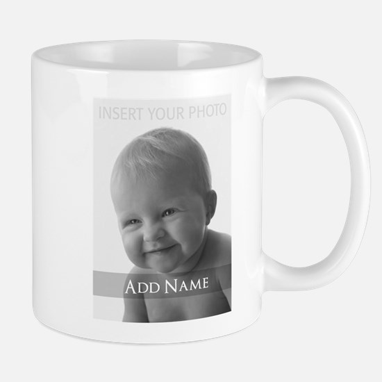 Add Photo Modern Design Mugs