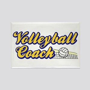 VOLLEYBALL COACH Rectangle Magnet