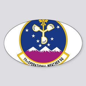 11th Op WX Sq (Color) Sticker