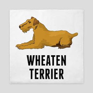 Wheaten Terrier Queen Duvet
