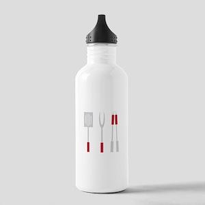 Grill Utensils Water Bottle