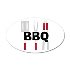 BBQ Wall Decal