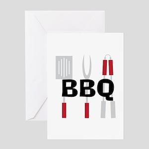 BBQ Greeting Cards