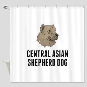 Central Asian Shepherd Dog Shower Curtain