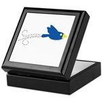 Twin B Flying Bird Keepsake Box