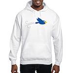 Twin B Flying Bird Hooded Sweatshirt