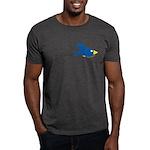 Twin B Flying Bird Dark T-Shirt