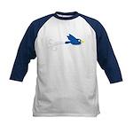 Twin B Flying Bird Kids Baseball Jersey