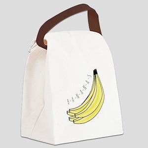 Bananas Canvas Lunch Bag