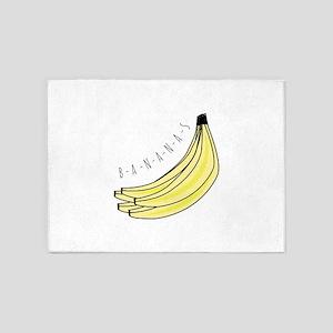 Bananas 5'x7'Area Rug