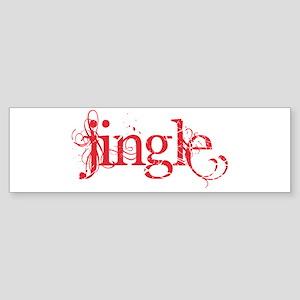 Jingle Bumper Sticker