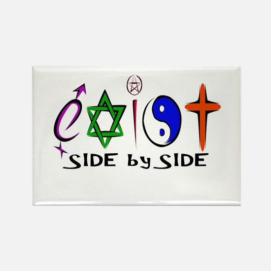 Exist - side by side Magnets