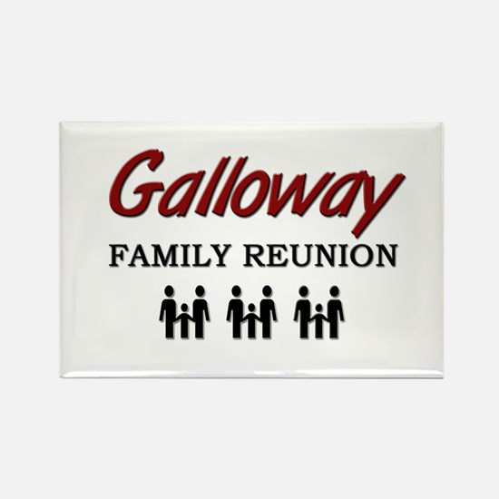 Galloway Family Reunion Rectangle Magnet