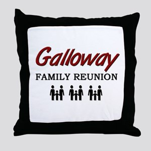 Galloway Family Reunion Throw Pillow