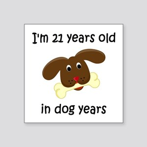 3 dog years 4 - 2 Sticker