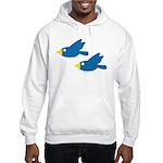 Twin Parent Birds Hooded Sweatshirt