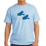 Twin Parent Birds Light T-Shirt