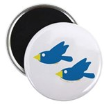 Twin Parent Birds Magnet