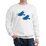 Twin Parent Birds Sweatshirt
