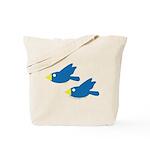 Twin Parent Birds Tote Bag