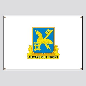 USA Army Military Intelligence Insignia Banner