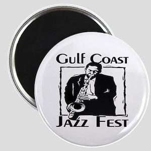 Gulf Coast Jazz fest Magnets