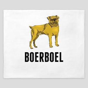 Boerboel King Duvet
