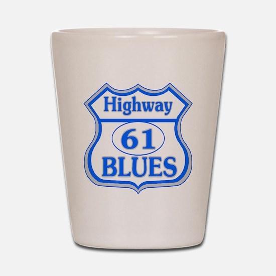 Blues Highway Shot Glass
